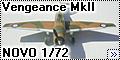 NOVO 1/72 Vultee Vengeance MkII