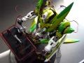 Bandai 1/100 GNX-603T c Gn движком + диорама