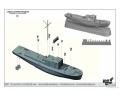 Обзор КомБриг 1/350 Костромич проект 1606 и Ярославец проект 376